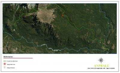 Circuito Cerro Dedo Gordo - Mapa General