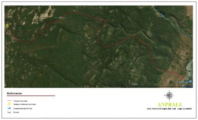 Circuito Cerro Lindo - Mapa General