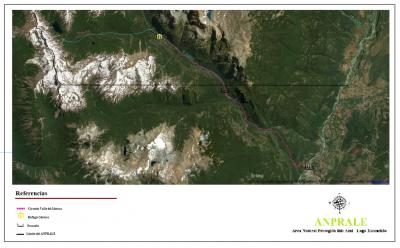 Circuito Valle del Motoco - Mapa General
