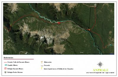 Circuito Valle del Encanto Blanco - Mapa general